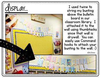 Second Grade Superstars Bunting