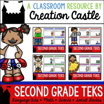 Second Grade TEKS Bundle