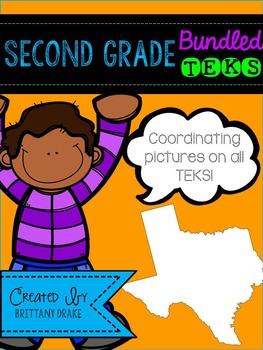 Second Grade TEKS: Bundled All Subjects