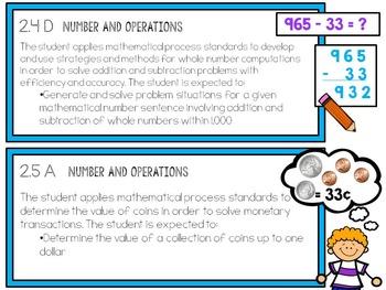 Second Grade TEKS: Math