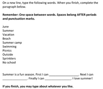 Second Grade - Teaching Word Throughout the Year