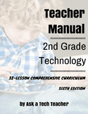 2nd Grade Technology--6th edition: 32-lesson Comprehensive