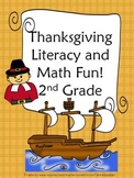 Second Grade Thanksgiving Pack!
