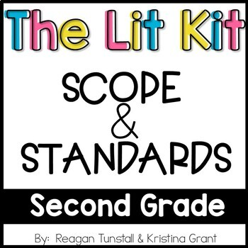 Second Grade The Lit Kit Scope & Standards