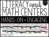 Second Grade Themed Literacy & Math Centers for the Year: SET 1!