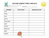 Second Grade Time Capsule