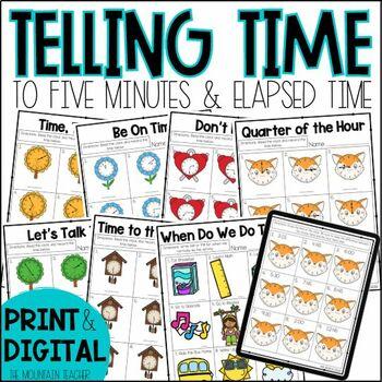 Second Grade Time Unit