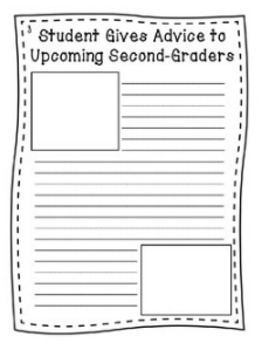 """End of Year Writing Activity - """"Second Grade Times"""""""