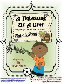 Treasures ~ A Treasure Of A Unit For 2nd Grade: Babu's Song ~