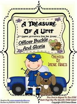 Treasures ~ A Treasure Of A Unit For 2nd Grade: Officer Buckle And Gloria