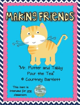 Second Grade Treasures Resources for Mr. Putter and Tabby