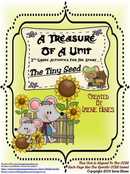 Treasures ~ A Treasure Of A Unit For 2nd Grade: The Tiny Seed by Eric Carle