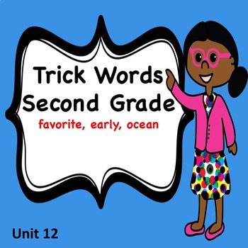 Second Grade Trick Words