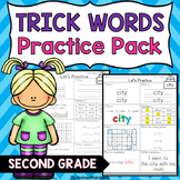 Trick Words Level 2 Practice Pack