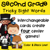 Second Grade Tricky Sight Words Games