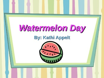 Second Grade Trophies Watermelon Day Powerpoint