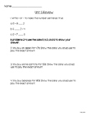 Second Grade Unit 5 Everyday Math Test Review
