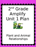 Second Grade Unit Plan for Amplify Science Unit 1-Plant and Animal Relationships