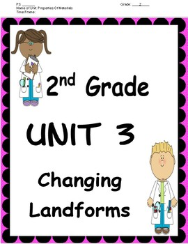 Second Grade Unit Plan for Amplify Unit 3 - Changing Landforms