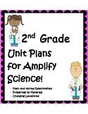 Second Grade Unit Plans for Amplify Science Units 1-3! BUNDLE!