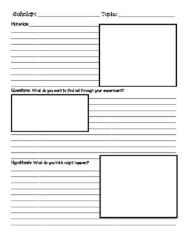 Second Grade Units of Study Lab Report Paper