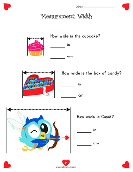 Valentine's Day Literacy and Math Activities - 2nd Grade