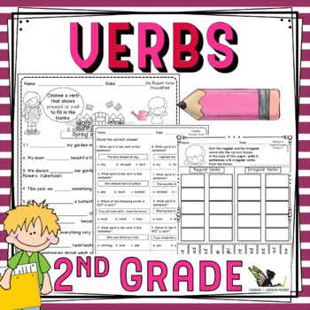 Second Grade Verbs