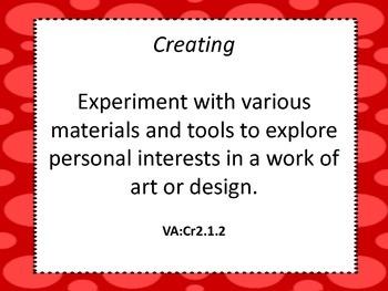 Second Grade Visual Arts Standards