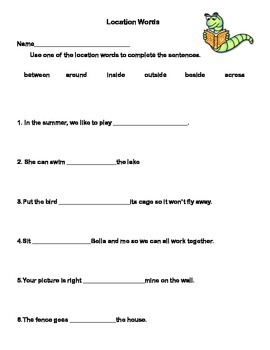 Vocabulary Building Worksheets for Second Grade