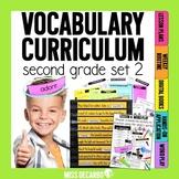 Vocabulary Curriculum Second Grade SET 2