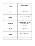 Second Grade Vocabulary Packet (common core aligned)