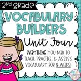 Second Grade Vocabulary Word Builders Unit 4