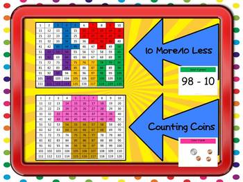 Second Grade Watch, Think, Color Games - VARIETY BUNDLE #1