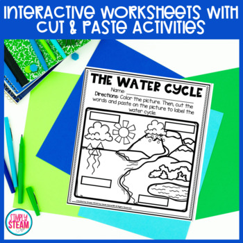 Water Cycle Worksheets & Posters