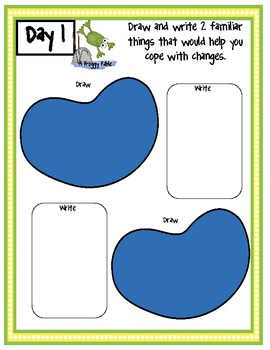 Second Grade Weekly Writing Journal Reading Street, Unit 4, 2011 & 2013 Series