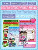 Second Grade Winter Common Core No Prep Bundle