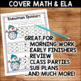 Winter Literacy and Math No Prep Bundle for Second Grade