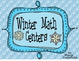 Second Grade Winter Math Centers (Common Core Aligned)