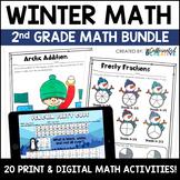 Winter No Prep Math Pack for Second Grade