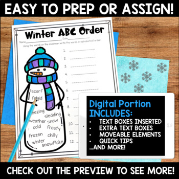 Winter Activities MEGA Bundle (Includes holidays) for Second Grade