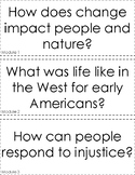 Second Grade Wit and Wisdom Focus Wall Module Questions