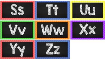 Second Grade Wonders Alphabet Cards