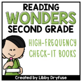 Second Grade Wonders High-Frequency Word Books