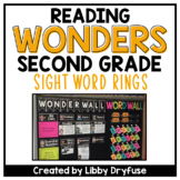 Second Grade Wonders High-Frequency Word Rings