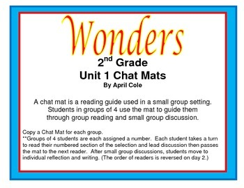 Wonders Series Student-Led Reading Guide