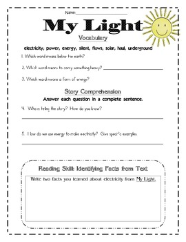 Second Grade Wonders Reading Unit 6: 6 Different Items for Each Story