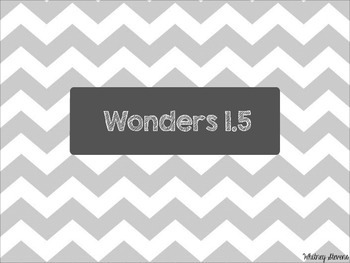 Second Grade Wonders Unit 1 Week 5 Spelling Words