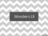 Second Grade Wonders Unit 1 Week 5 Spelling Words