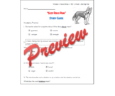 Second Grade Wonders - Unit 2, Week 1, Sled Dogs Run, Study Guide