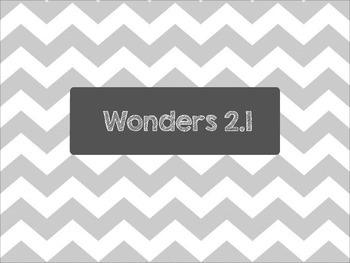 Second Grade Wonders Unit 2 Week 1 Spelling
